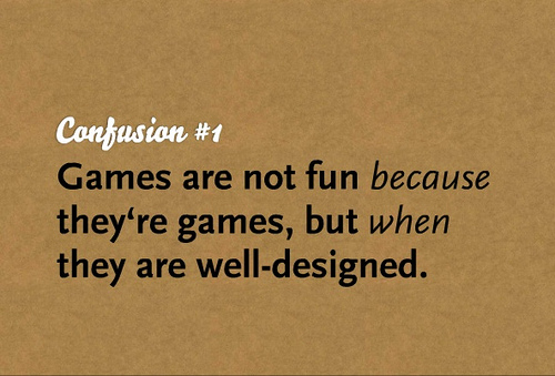 Why are games fun?